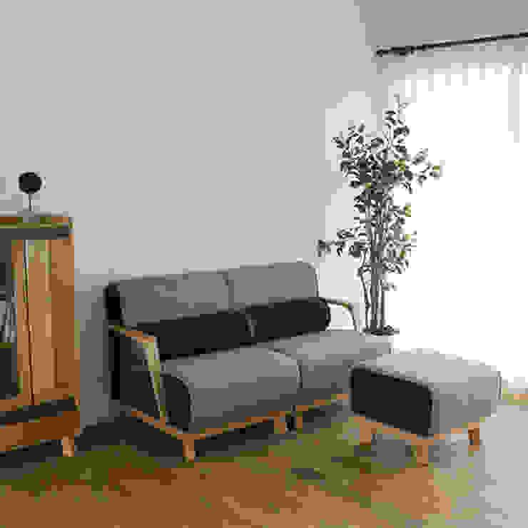 株式会社 大雪木工 Living roomSofas & armchairs Wood Wood effect