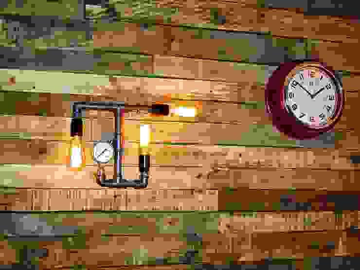 industriell  von Lamparas Vintage Vieja Eddie, Industrial