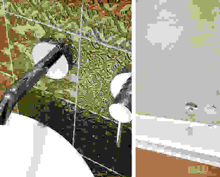 Łazienka w złocie Klasyczna łazienka od SAS Klasyczny