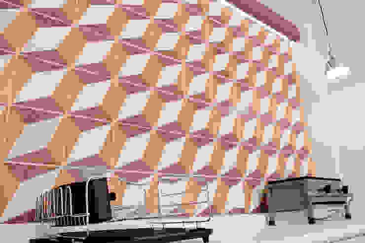 Punto de Venta de Tortas la Hormiga Cocinas modernas de Additivo al diseño Moderno Cerámico