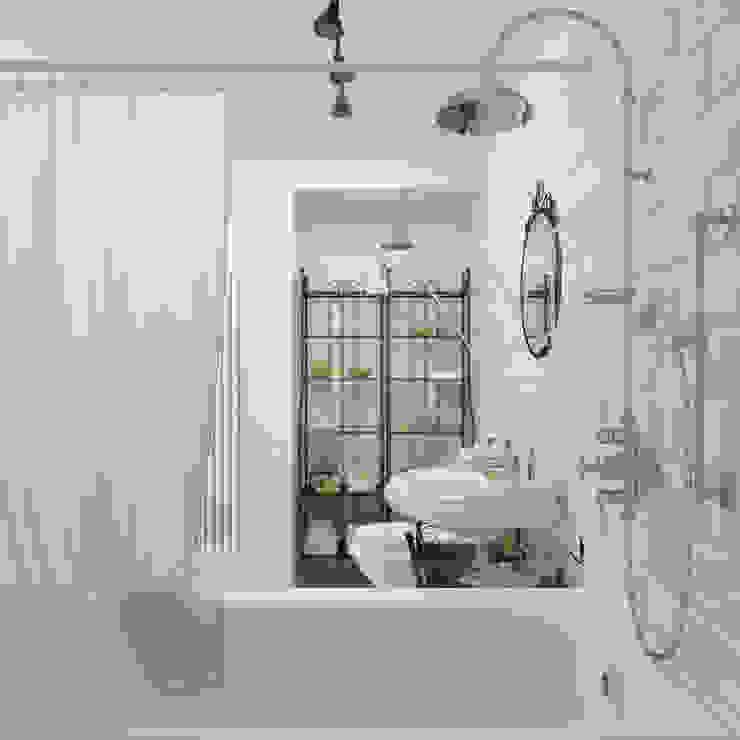 스칸디나비아 욕실 by 3D GROUP 북유럽