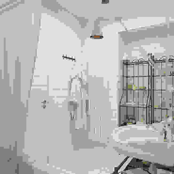 Salle de bain scandinave par 3D GROUP Scandinave