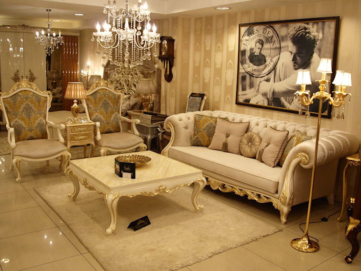 Classic style living room by Sonmez Mobilya Avantgarde Boutique Modoko Classic
