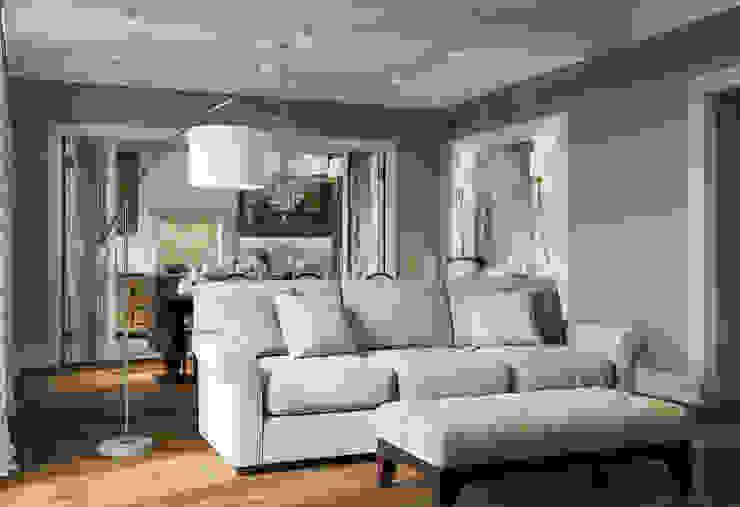 Phòng khách phong cách chiết trung bởi MARION STUDIO Chiết trung