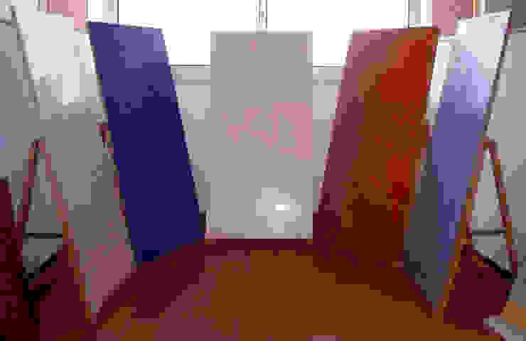 Estuque Veneziano RenoBuild Algarve Salas de estar modernas