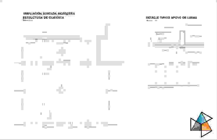 Proyecto estructural para ampliación de vivienda Casas clásicas de Trecon Arquitectura e Ingeniería Clásico