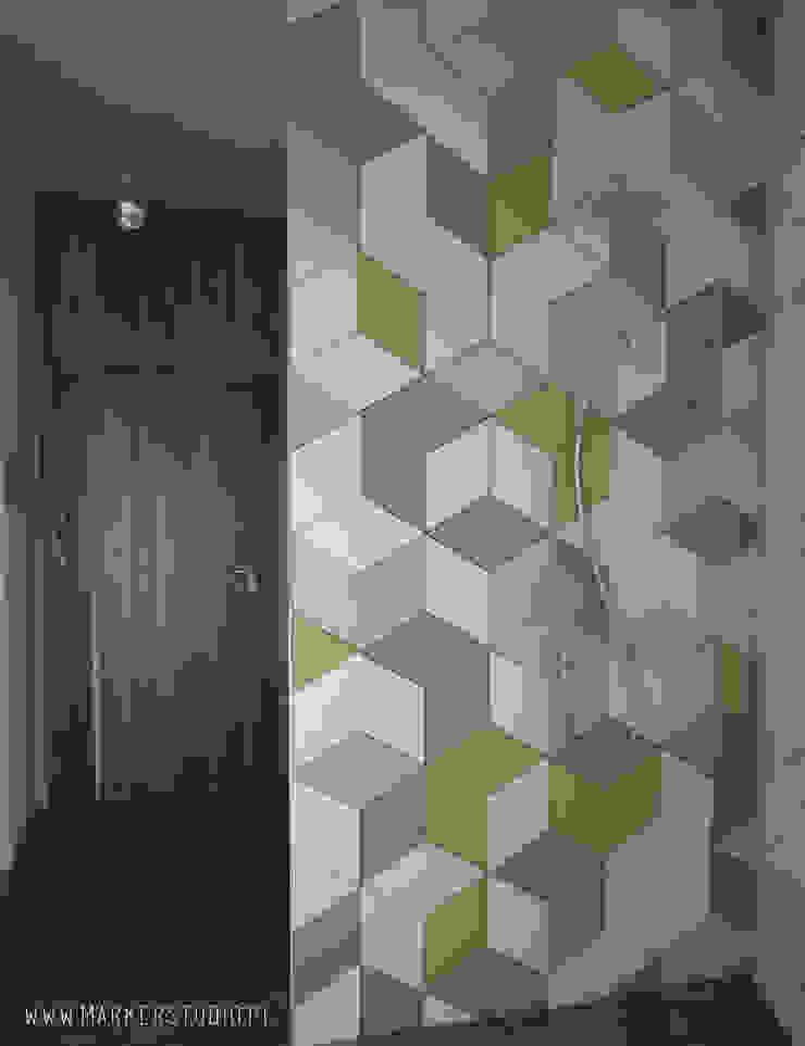 MArker Industrial style bathroom Ceramic Multicolored