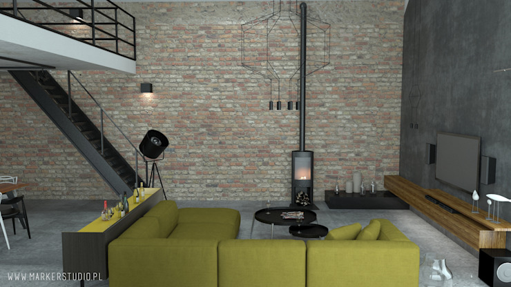 MArker Salas de estilo industrial