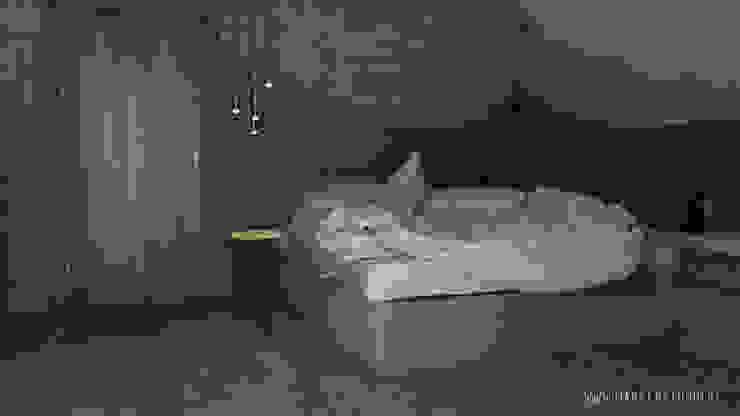 MArker Industrial style bedroom Wood Grey