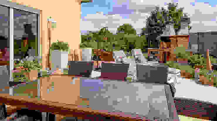 Mediterranean style balcony, veranda & terrace by homify Mediterranean