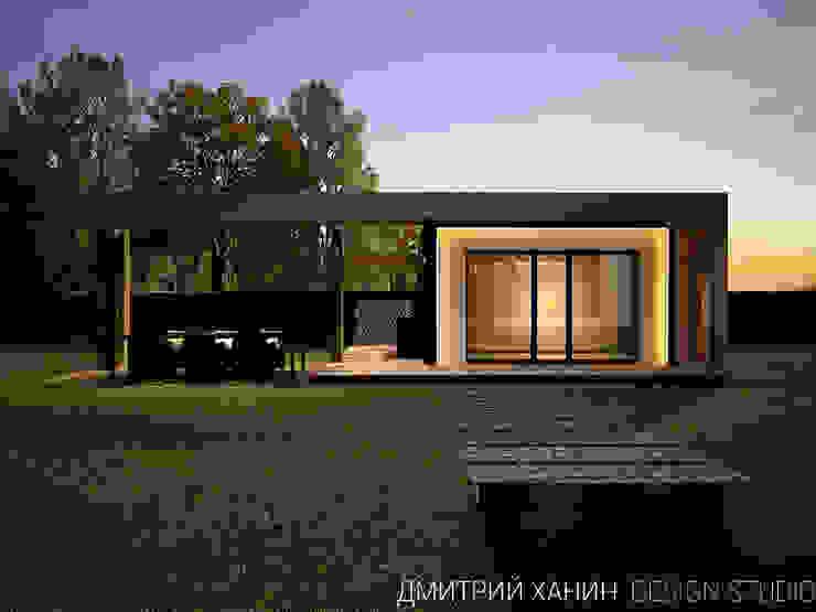 Casas de estilo minimalista de Dmitriy Khanin Minimalista Madera Acabado en madera