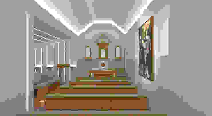 Renovação Capela São Domingos por Poliune Moderno