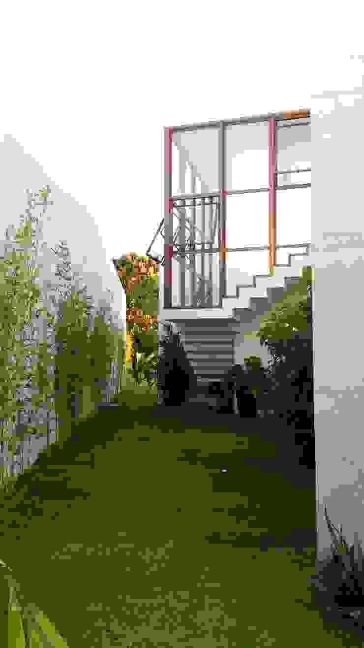 Casas de estilo tropical de Tânia Póvoa Arquitetura e Decoração Tropical Vidrio