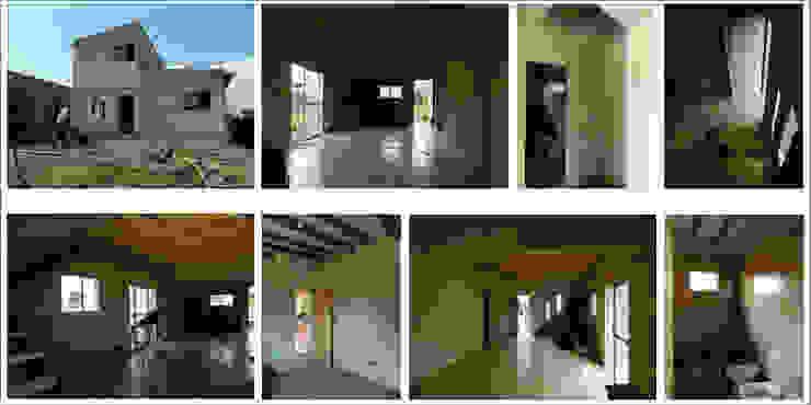 "ARQUITECTURA BIOCLIMATICA ""ECO CIMBRA"" 2 Casas rurales de FERRER||AGUIRRE ARQUITECTURA+DISEÑO+MUEBLES Rural"