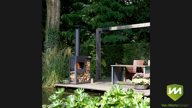 Country style garden by Van Mierlo Tuinen | Exclusieve Tuinontwerpen Country