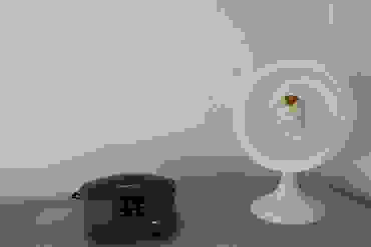Lampe vintage design upcycling issue d'un ancien radiateur Calor années 50/60 par homify Scandinave