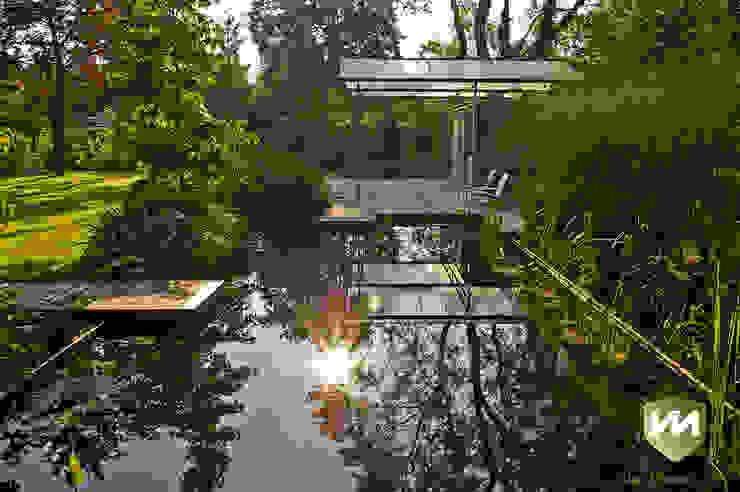 Industrial style garden by Van Mierlo Tuinen | Exclusieve Tuinontwerpen Industrial