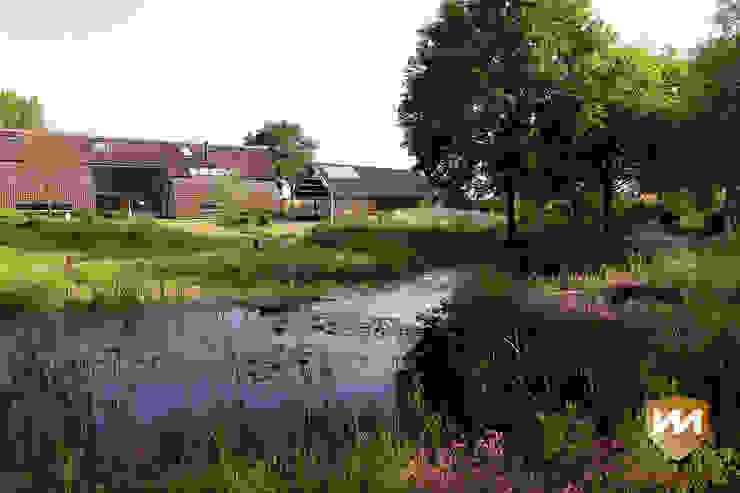 Jardines de estilo  por Van Mierlo Tuinen | Exclusieve Tuinontwerpen, Rural