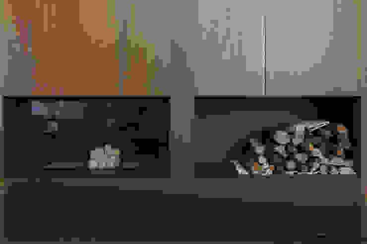 Salas de estilo moderno de Teresa Casas Disseny d'Interiors Moderno