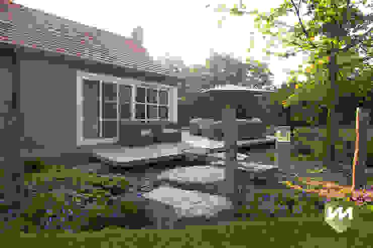 Сады в . Автор – Van Mierlo Tuinen | Exclusieve Tuinontwerpen, Кантри