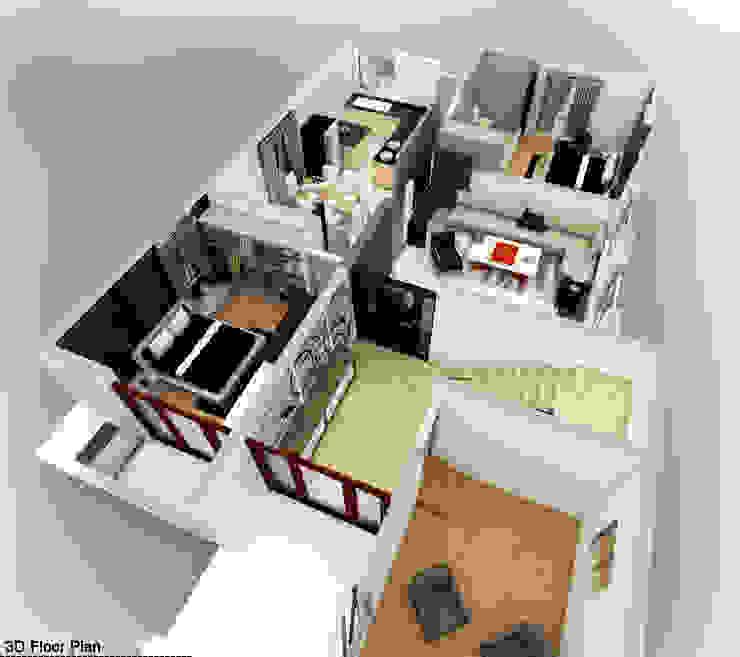 Mr. Babu Residence: modern  by Izza Architects & Interior designers,Modern