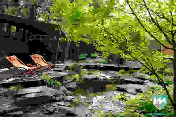 Jardines de estilo moderno de Van Mierlo Tuinen | Exclusieve Tuinontwerpen Moderno