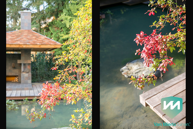 Jardin asiatique par Van Mierlo Tuinen | Exclusieve Tuinontwerpen Asiatique