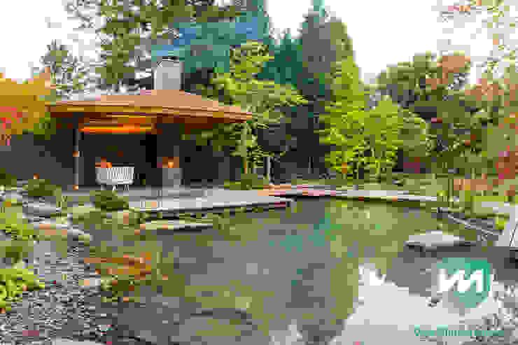 Jardins asiáticos por Van Mierlo Tuinen | Exclusieve Tuinontwerpen Asiático