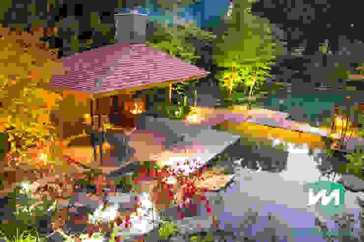 Vườn phong cách châu Á bởi Van Mierlo Tuinen | Exclusieve Tuinontwerpen Châu Á