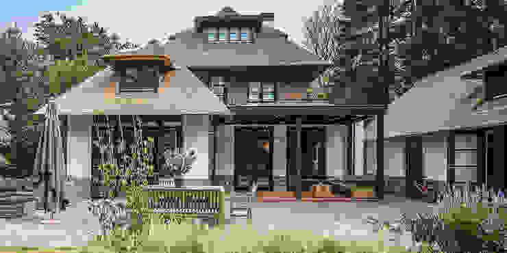 LANDELIJKE RIETGEDEKTE VILLA NAARDEN Landelijke huizen van DENOLDERVLEUGELS Architects & Associates Landelijk