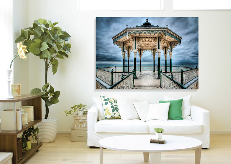 Brighton bandstand - backlit art Nick Jackson Photography ArtworkPictures & paintings