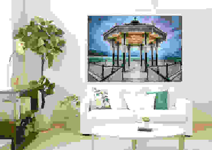 Brighton bandstand - backlit art Nick Jackson Photography ArteCuadros y pinturas