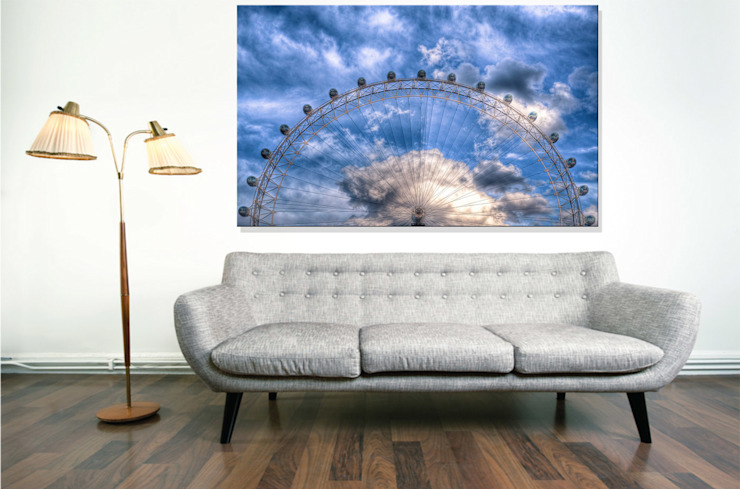 Top half of the London Eye Nick Jackson Photography ArtworkPictures & paintings