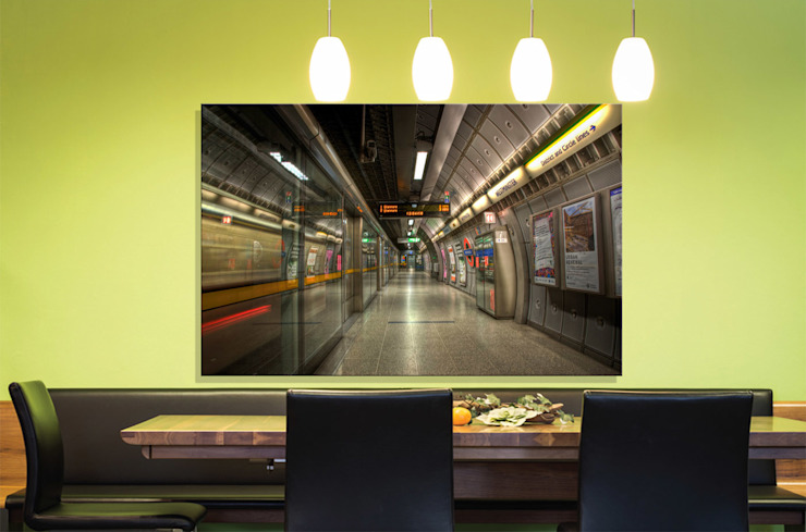 Westminster Station, Jubilee line platform Nick Jackson Photography ArtworkPictures & paintings