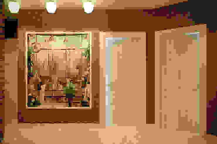 Koridor & Tangga Minimalis Oleh Студия интерьерного дизайна happy.design Minimalis