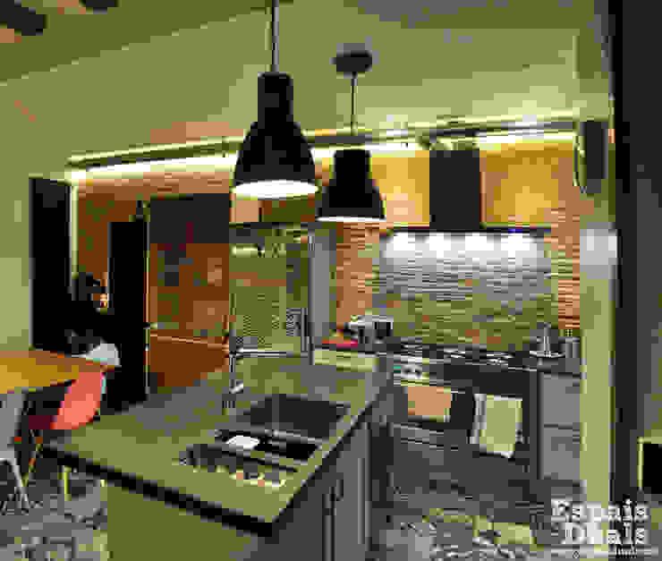 Cocinas de estilo rústico de Espais Duals Rústico