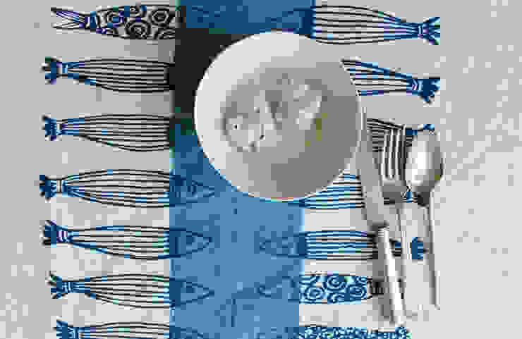 Stamperia Bertozzi Dining roomCrockery & glassware Katun Blue