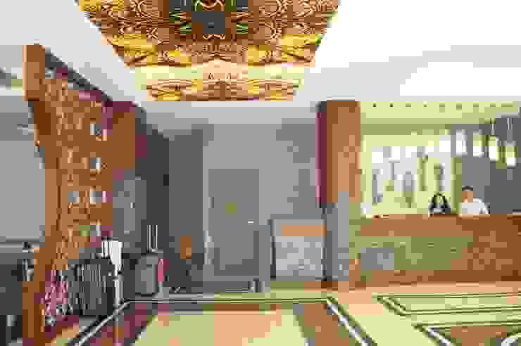 My Dream Hotel Modern Oteller AÇI İÇMİMARLIK TASARIM MOBİLYA İNŞAAT LTD.ŞTİ. Modern