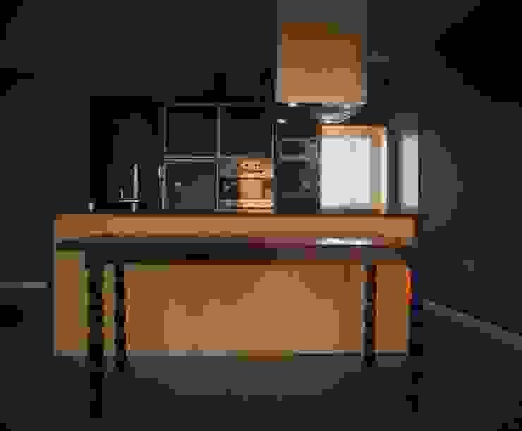 Brarda Roda Arquitectos Dapur Modern Yellow
