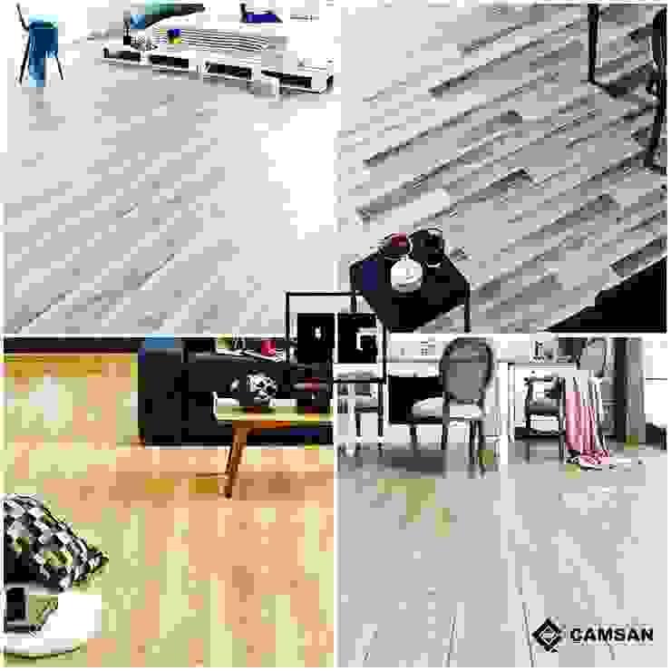 Paredes y pisos de estilo moderno de RAGHAN YAPI PROJE MİMARLIK Moderno