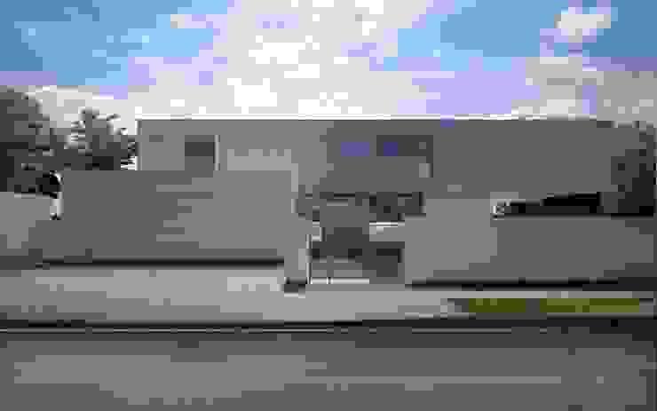 Dom w Pęcicach Małych: styl , w kategorii Domy zaprojektowany przez pracownia projektowa,Minimalistyczny