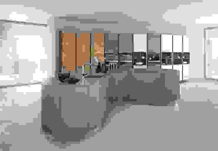 de I&E Küchen & Wohnen de Luxe Moderno