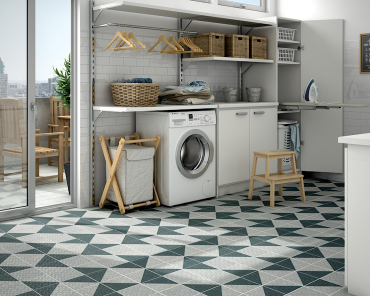 industrial  by homify, Industrial Tiles