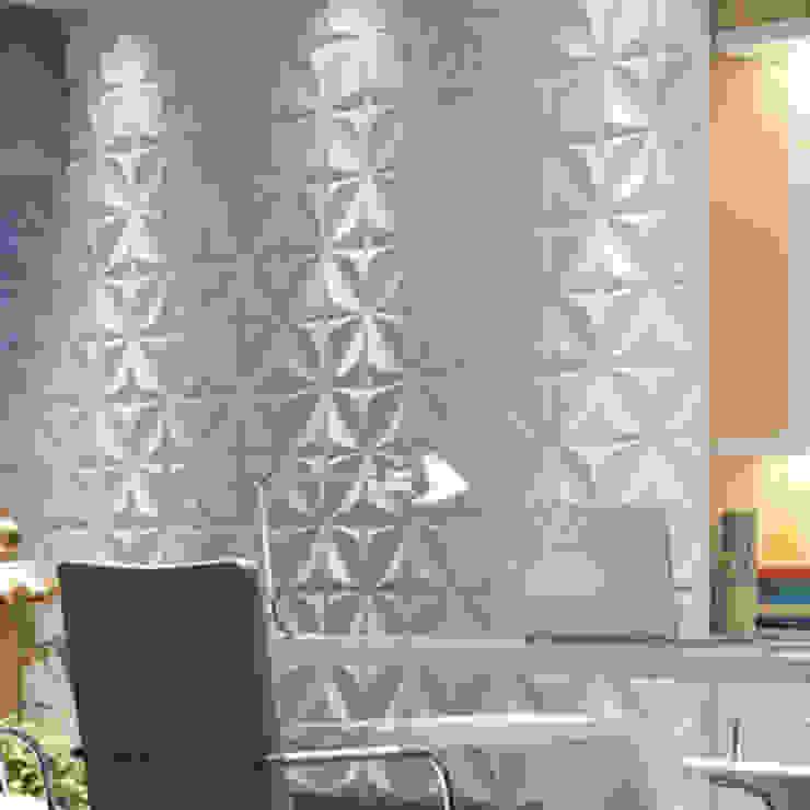 Paneles 3d Paredes y pisos de estilo moderno de dekora2013 Moderno Bambú Verde