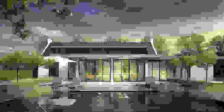 LANDELIJK MODERNE HOEVE GEEL Landelijke huizen van DENOLDERVLEUGELS Architects & Associates Landelijk