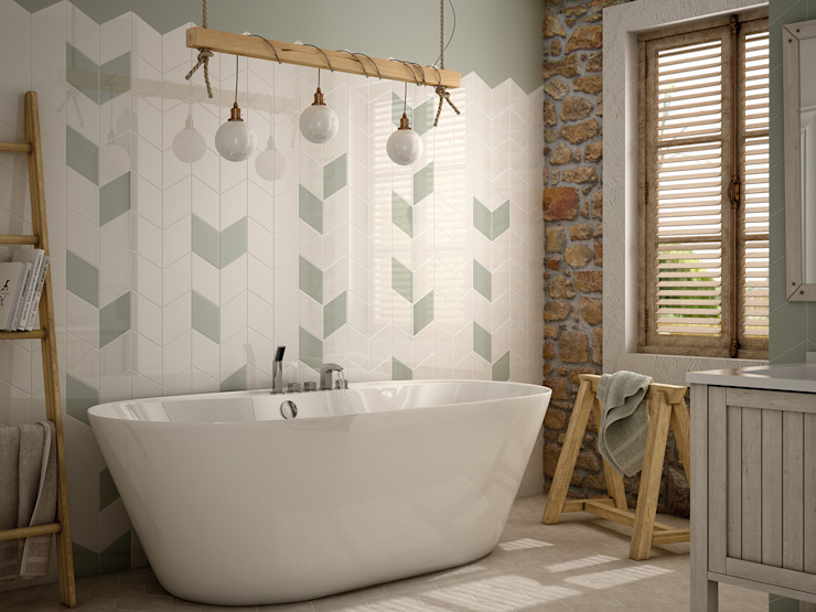 modern  by homify, Modern Tiles
