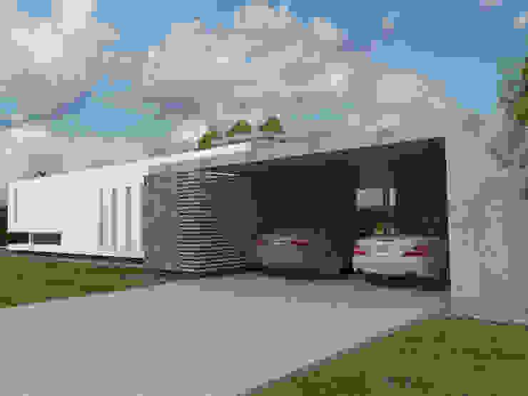 Acceso de Servicio Casas modernas: Ideas, imágenes y decoración de Poggi Schmit Arquitectura Moderno