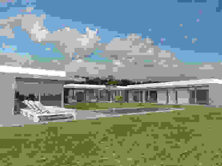 CASA SCH Casas modernas: Ideas, imágenes y decoración de Poggi Schmit Arquitectura Moderno