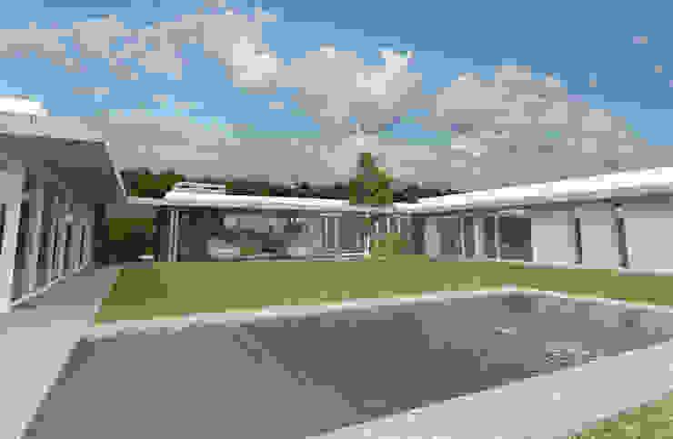 Desde Patio 3 Casas modernas: Ideas, imágenes y decoración de Poggi Schmit Arquitectura Moderno