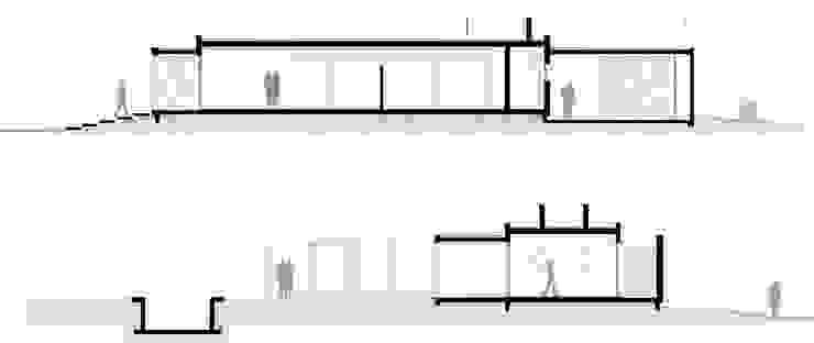 Cortes Casas modernas: Ideas, imágenes y decoración de Poggi Schmit Arquitectura Moderno